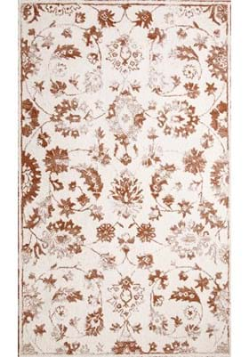 Dynamic Rugs 88803 102 Ivory Rust