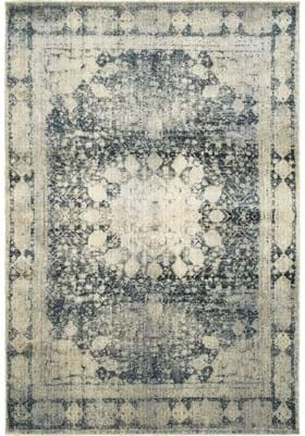 Oriental Weavers 4445S Ivory Blue