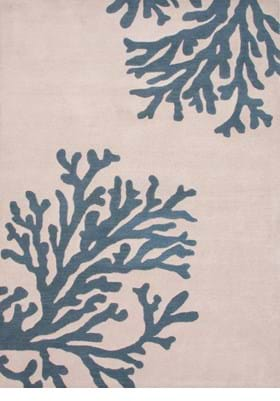 Jaipur Bough COS01 Silver Birch Indian Teal