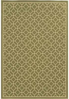 Oriental Weavers 4771B Green Ivory