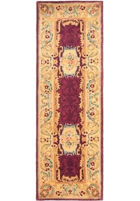 Safavieh EM422A Burgundy Gold
