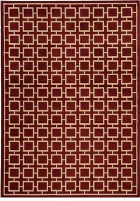 Oriental Weavers 3885A Red Beige