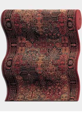 Couristan 8143 Imperial Baktiari 3203A Antique Red