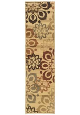 Oriental Weavers 4441W Beige Rust