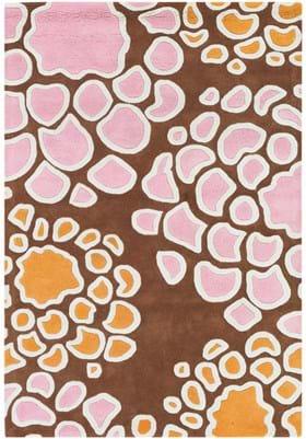 Chandra INH21627 Brown Pink