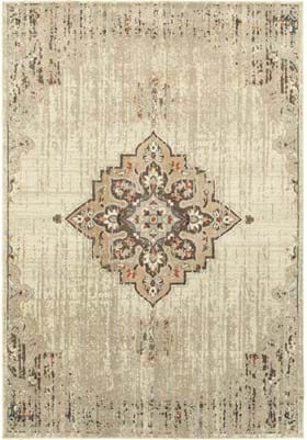 Oriental Weavers 72J Ivory Brown