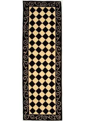 Safavieh HK711A Black Ivory