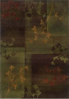 Oriental Weavers 1048D Brown Green