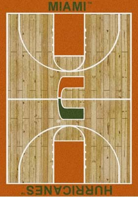 Milliken University of Miami Home Court 1157