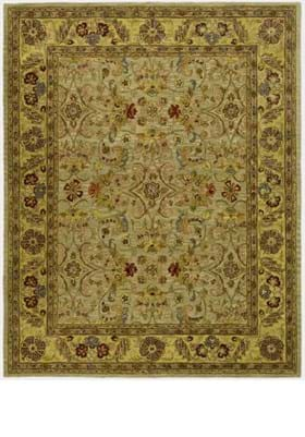 Safavieh CL324A Light Green Gold