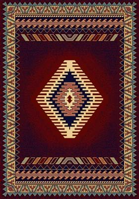 United Weavers 940-27034 Tucson Burgundy