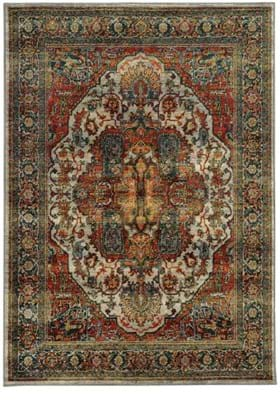Oriental Weavers 6382B Red Multi