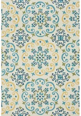 Loloi Rugs FC-35 Ivory Light Blue