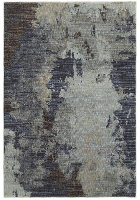 Oriental Weavers 8049B Navy Blue
