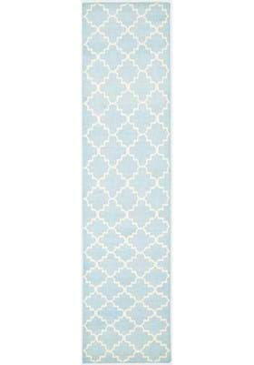 Safavieh DHU554B Light Blue Ivory