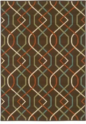 Oriental Weavers 896N6 Brown