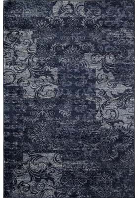 Rugs America 7926B Navy Patch