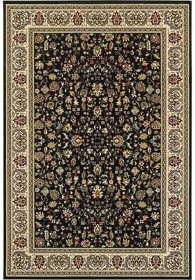 Oriental Weavers 108B Black Ivory
