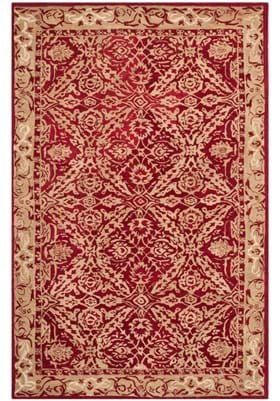 Safavieh AN583B Red Ivory