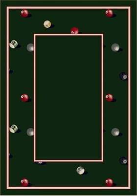 Milliken Billiards 8490 Emerald 11006