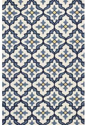 KAS Mosaic 4210 Ivory Blue