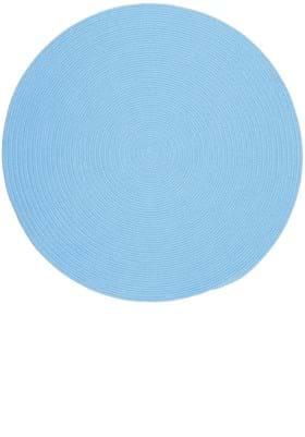Rhody Rug HB-07 Aqua Blue