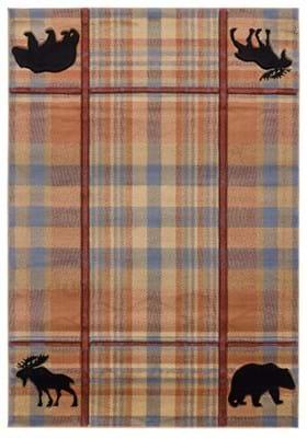 United Weavers 2055-40075 Nomad Plaid