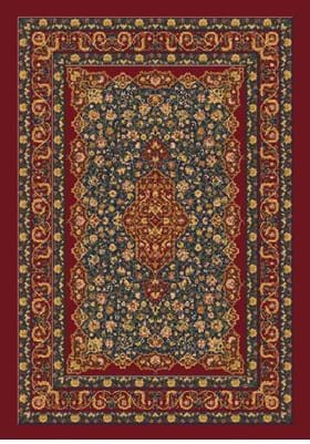 Milliken Tiraz 7492 Tapestry Red 187