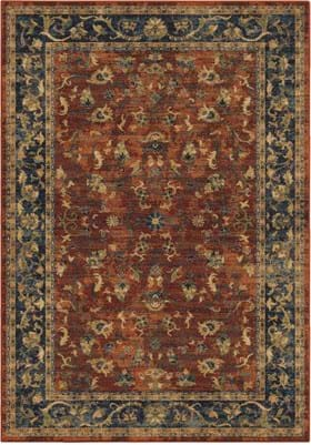 Orian Rugs 4501 Zettia Red