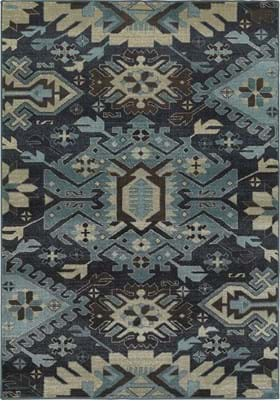 Oriental Weavers 4302A Navy Blue