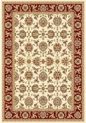 KAS Kashan 7312 Ivory Red