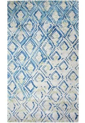 Dynamic Rugs 881003 155 Grey Turquoise