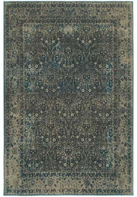 Oriental Weavers 1337B Navy Black