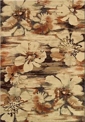 Couristan 6597 Mosaic Florals 3848 Multi
