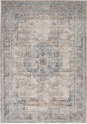 Nourison QUA07 Beige Gray