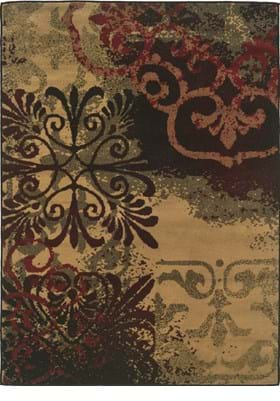 Oriental Weavers 2022D Beige Black