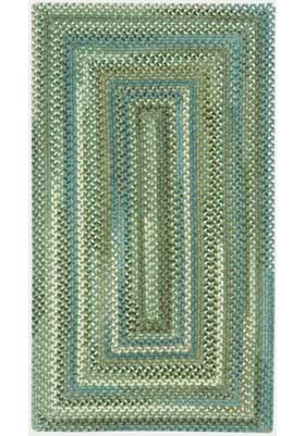 Capel Kill Devil Hill Dark Green ConcentricRectangle