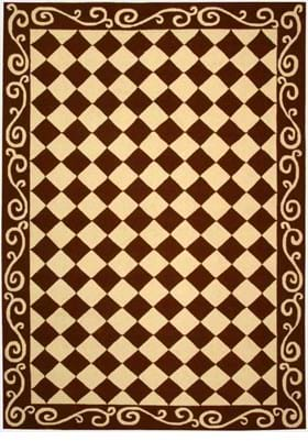 Safavieh HK711B Brown Ivory