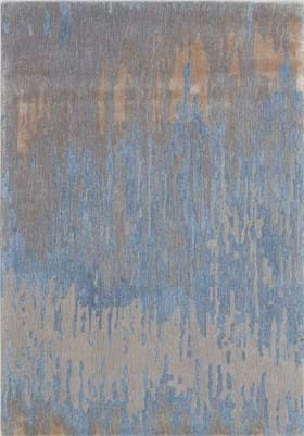 Dynamic Rugs 1852 590 Blue Gold