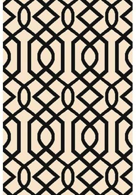 Dynamic Rugs 6203 109 Ivory Black