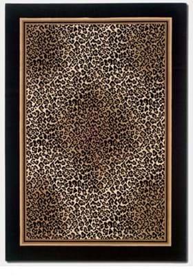 Couristan 0558 Leopard 5861 Standard
