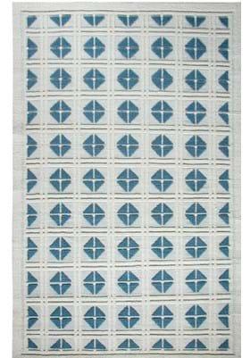 Dynamic Rugs 97704 105 Ivory Blue