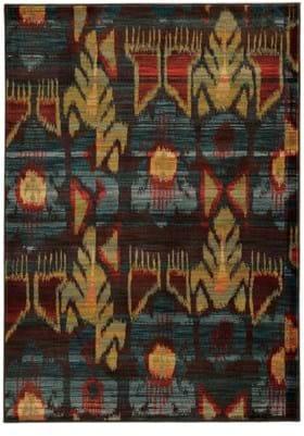 Oriental Weavers 4378H Charcoal Blue