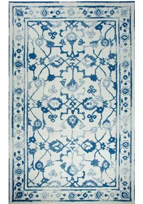 Dynamic Rugs 88802 189 Ivory Dark Blue