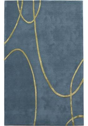 Rugs America 4605E Electric Blue