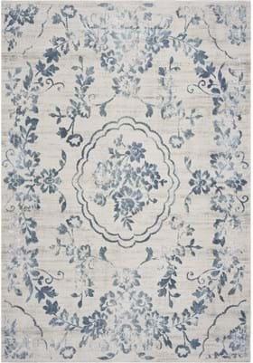 KAS Flora 7062 Ivory Blue