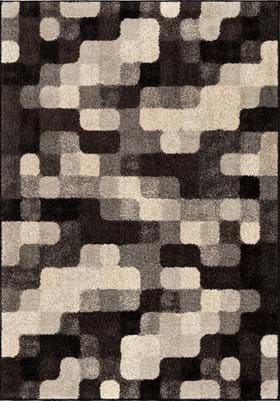 Orian Rugs Halo Blocks 4312 Gray