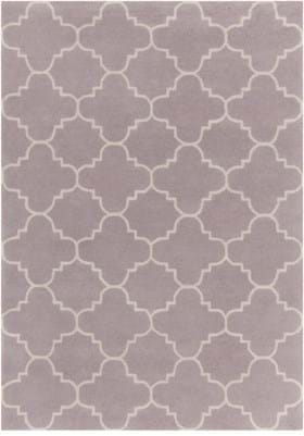 Chandra DAV-25844 Light Purple White