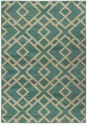 Oriental Weavers 3685M Blue Light Grey