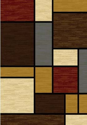 United Weavers 750-00675 Rhombus Multi